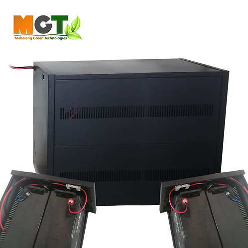 Solar Battery Pack - Expansion box - 12V x 4 120AH