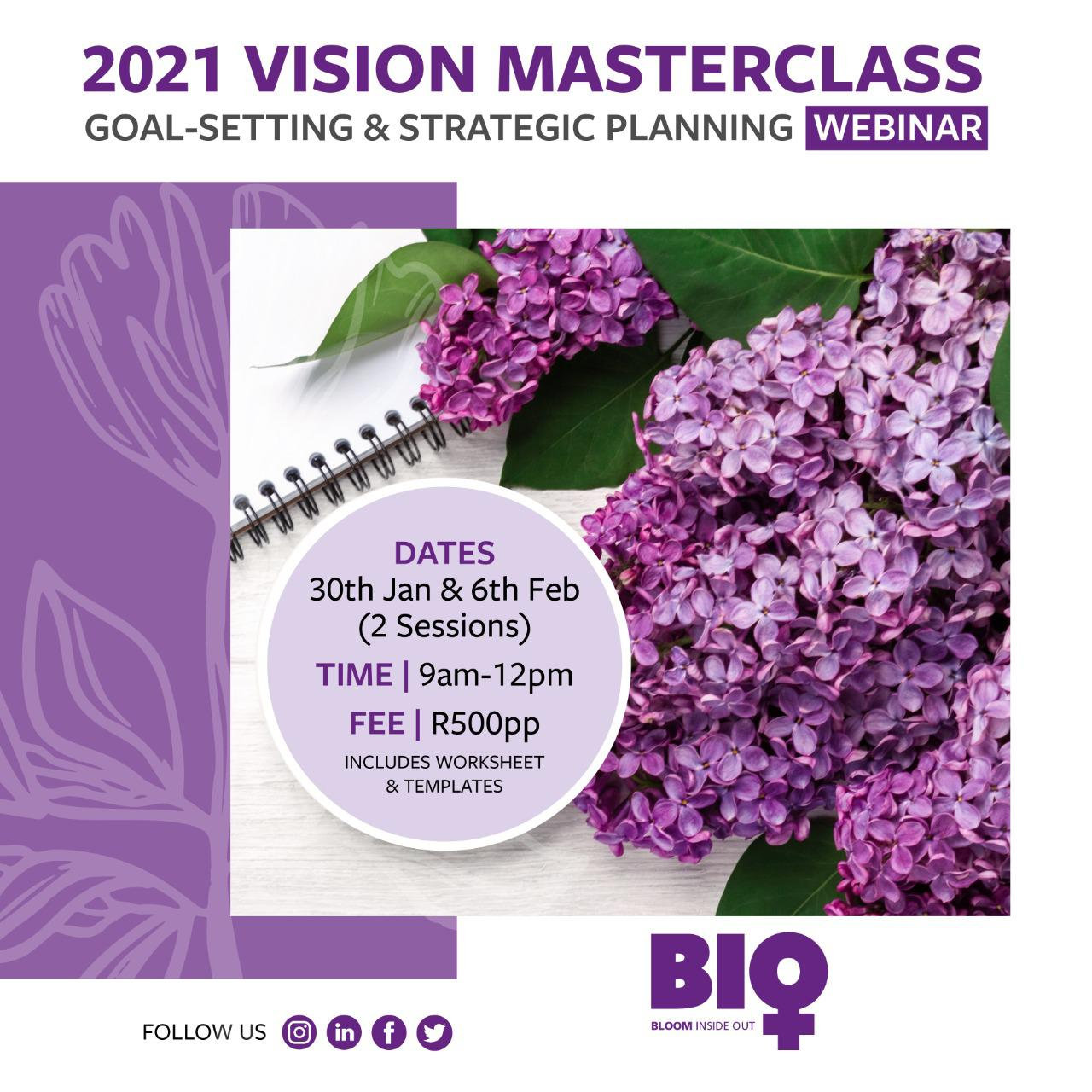 2021 VISION MASTERCLASS
