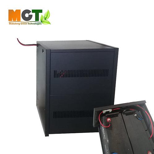 Solar Battery Pack - Expansion box - 12V x 2 120AH