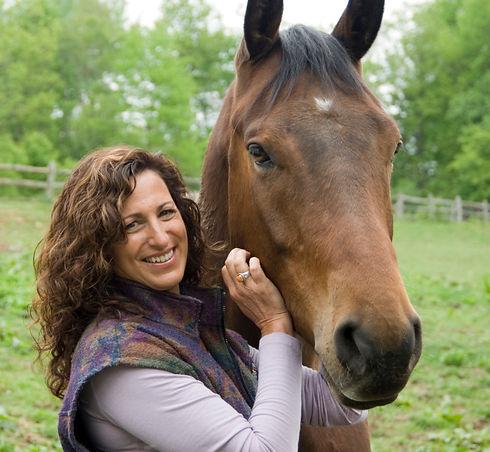 Dr Kathleen with horse.jpg