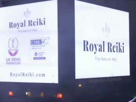 The First Royal Reiki Billboard!
