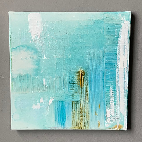Teal and Ochre #2 of 6