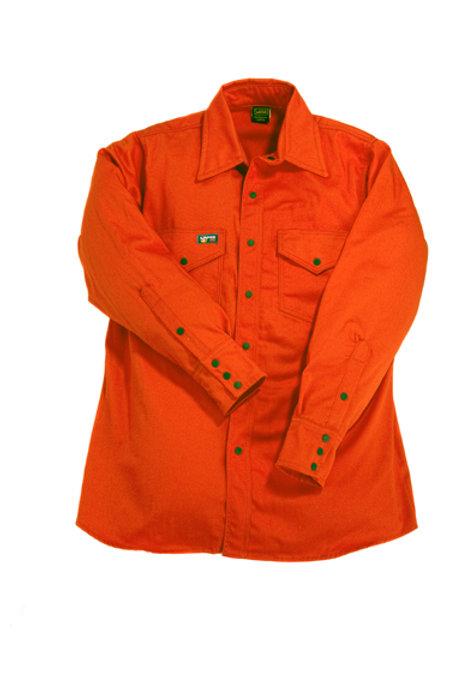 Lapco FR Orange Work Shirt