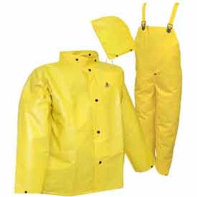 Tingley Durascrim 3 pc fr rain suit with hood