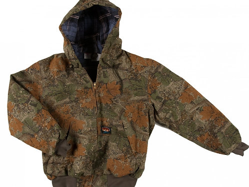 Rasco FRC Camo Insulated duck fr hooded jacket