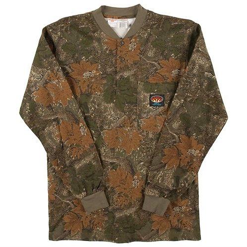 Rasco FR Camo henley shirt