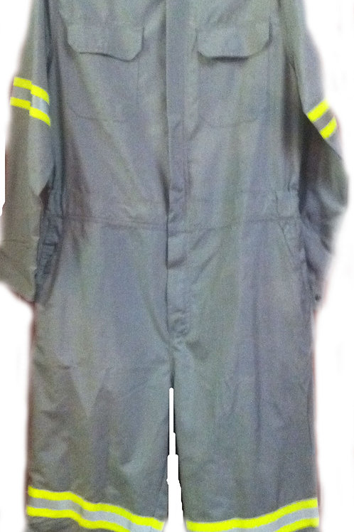 Fr Nomex light grey reflective 4.5oz coverall