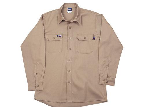 Lapco FR Khaki Work Shirt