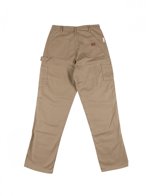 "Rasco khaki FR carpenter pant waist sizes 50""-52"""
