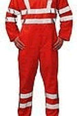 Hi Vis Lime FR lightweight coverall w/ tape