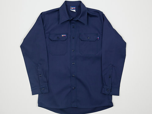 Lapco FR Navy Work Shirt
