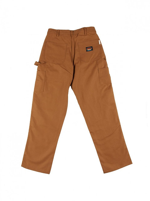 "Rasco duck brown FR carpenter pant SIZES 30""-42"""