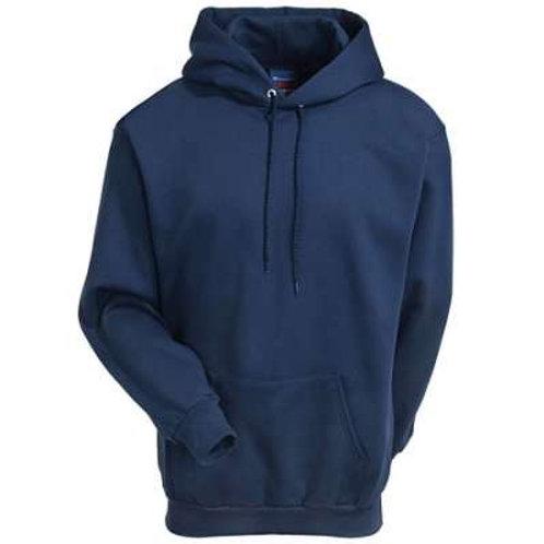 Pullover flame resistant Navy Hoodie Sweatshirt