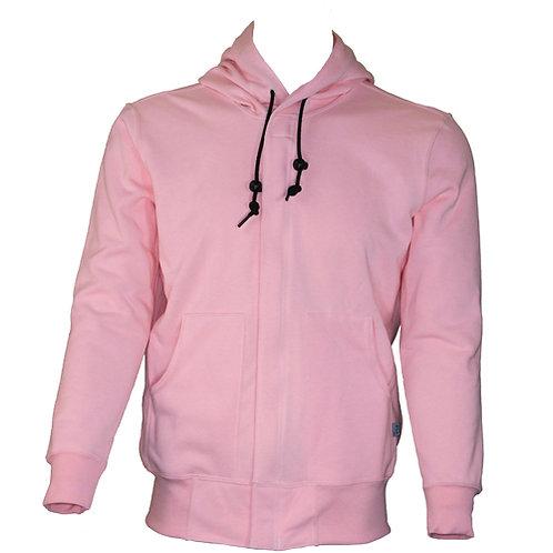 Fr ladies pink zip up hoodie sweatshirt