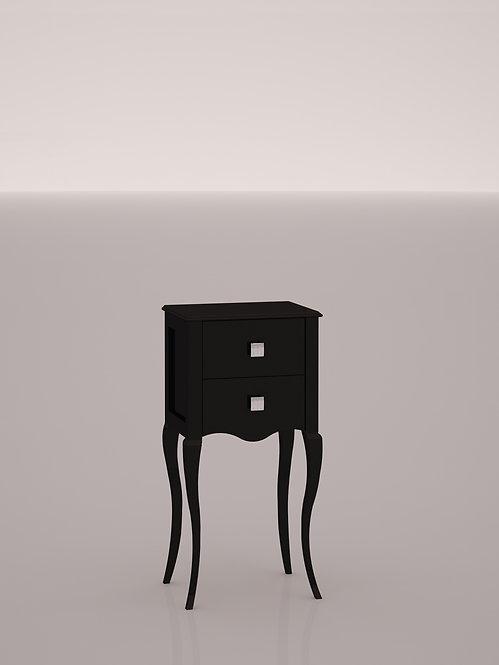 MEUBLE D'APPOINT L.42 H.87 P.31 (CM) - Noir