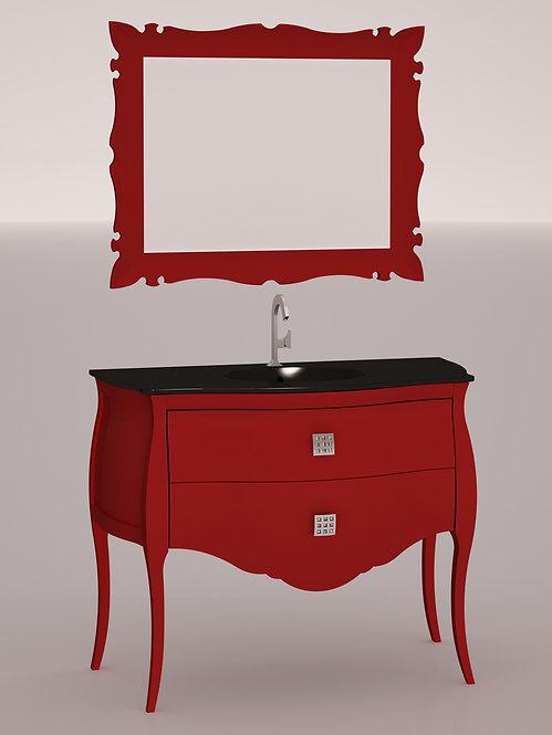 Composition 110 cm - Rouge