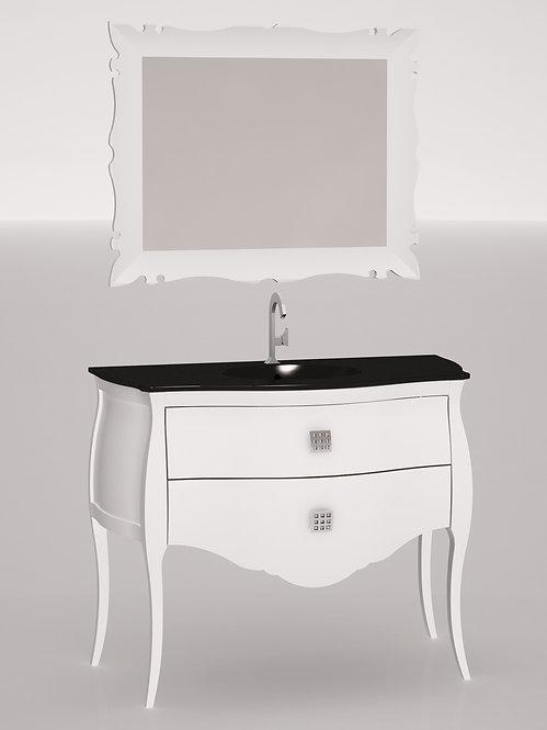 Composition 110 cm - Blanc