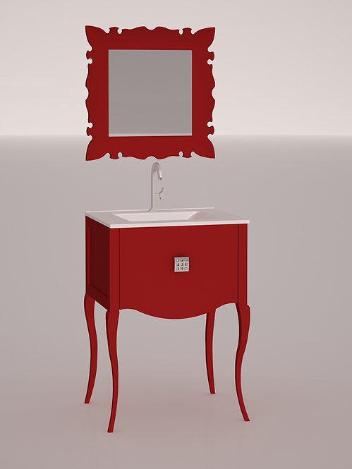 Composition 60 cm - Rouge