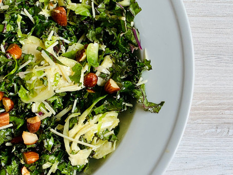 Kale & Brussels Sprout Detox Salad