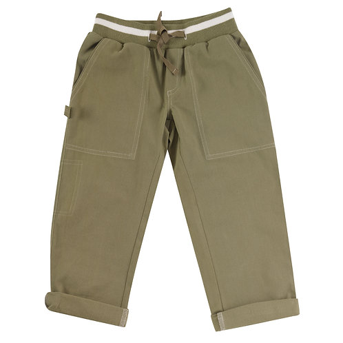 Painter pants, Olive