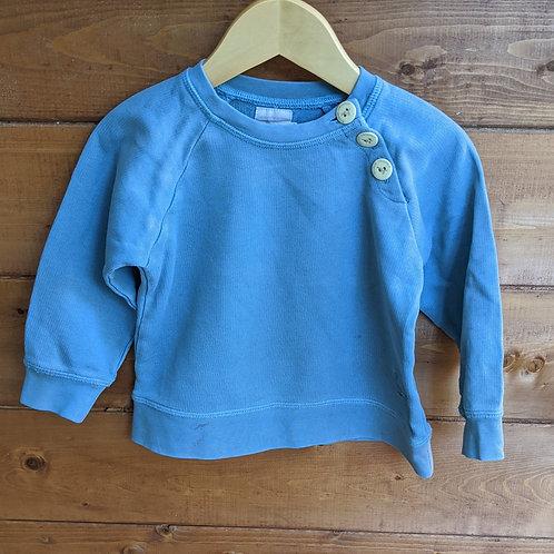 Pigeon Organics Blue Sweatshirt