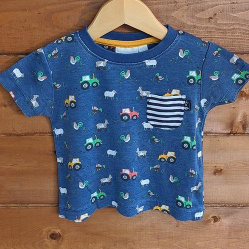 JoJo Maman Bebe Farm T-Shirt