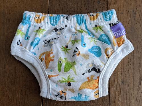 Bambino Mio Potty Reusable Training Pull Up Pants - Dino Print