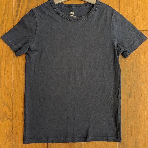 H&M Basic Navy Organic T-Shirt