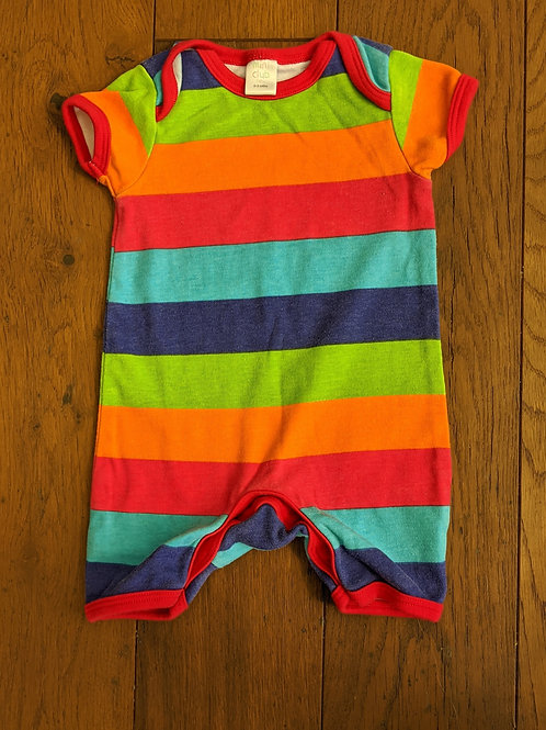 Mini Club Rainbow Shortie Romper