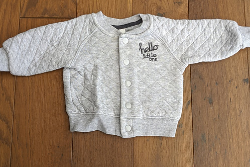 H&M 'Hello Little One' Baseball Jacket