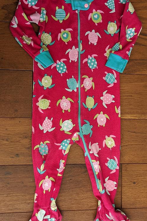 Hatley Turtles Zip Up Sleepsuit