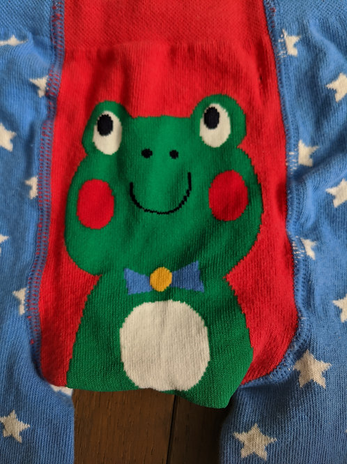 Frugi Frog Little Knitted Leggings