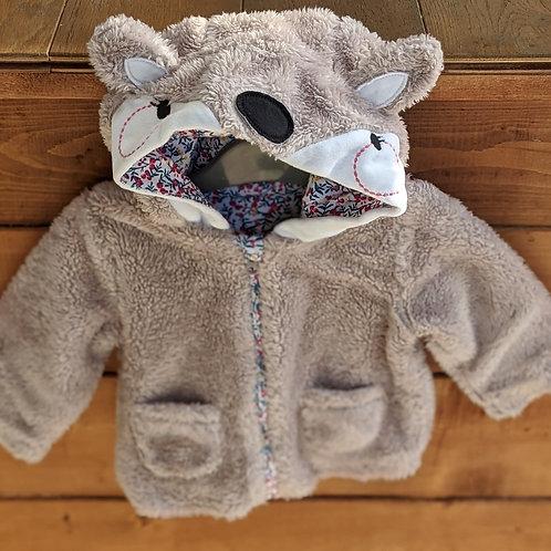 Mothercare Bear Hood Fleece
