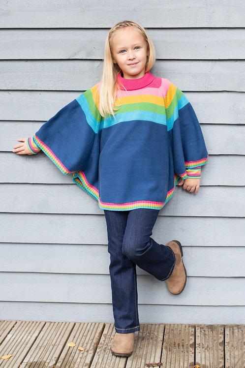 Kite Rainbow Poncho