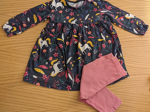 F&F & TU Horse Top & Leggings Set