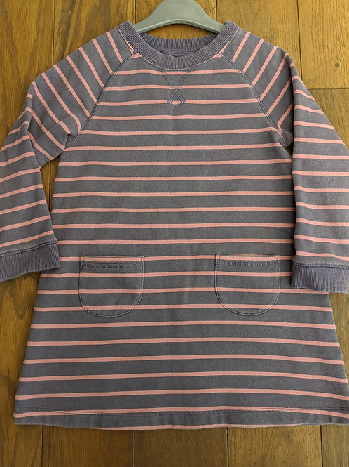 Mini Boden Striped Jumper Dress