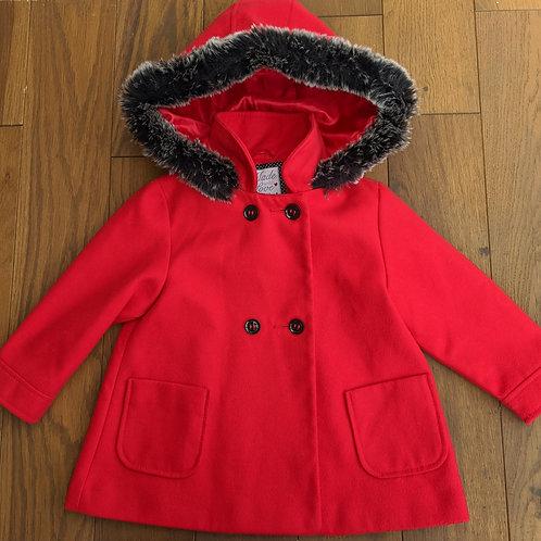 F&F Fur Trim Coat