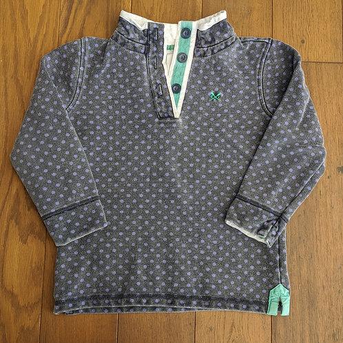 Crew Clothing Polka Dot Rugby Sweatshirt