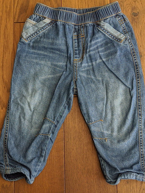 George Pull Up Jeans