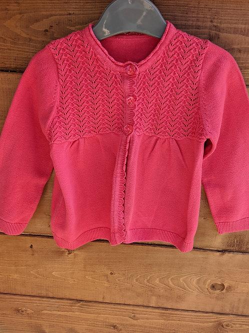 George Hot Pink Cardigan