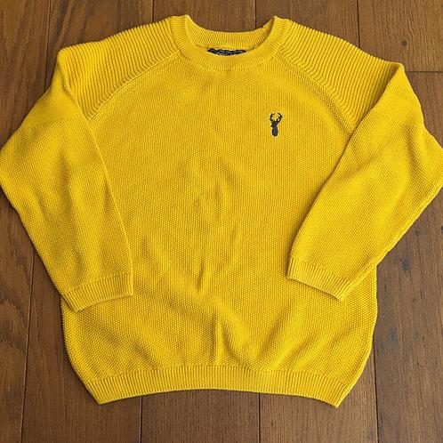 Next Mustard Knit Jumper