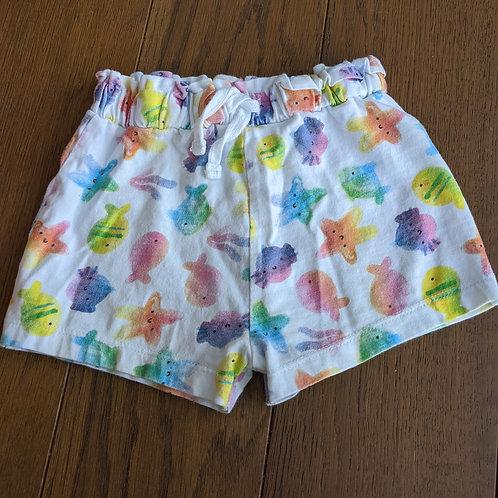 Peacocks Fishscape Shorts