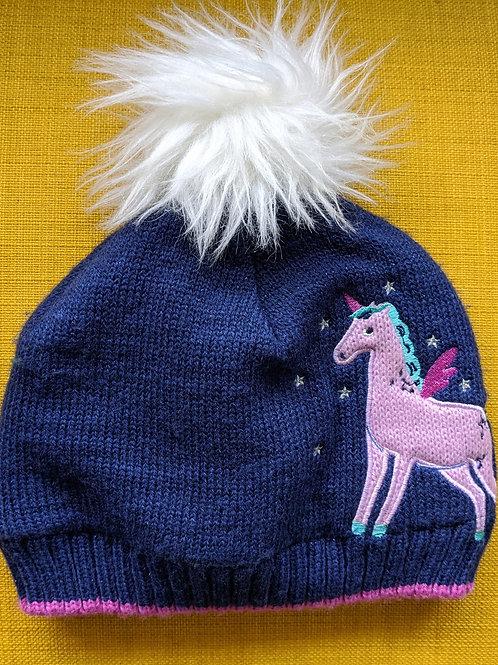John Lewis Unicorn Beanie Bobble Hat