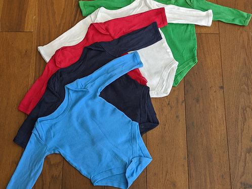 Matalan Set of 5 Long Sleeve Vests
