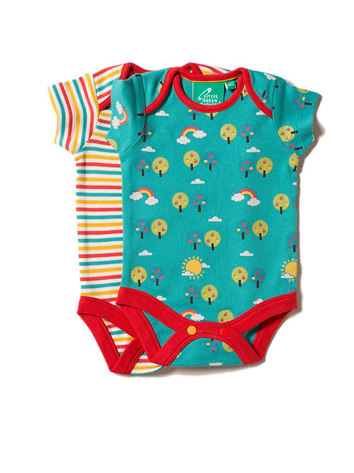 Little Green Radicals Beyond The Rainbow Baby Body Set