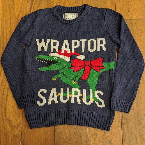 Matalan 'Wraptorsaurus' Festive Jumper