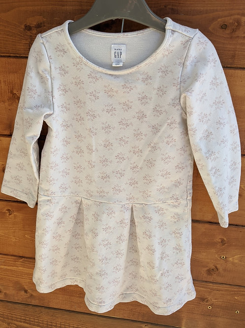Gap Fit & Flare Sweatshirt Dress
