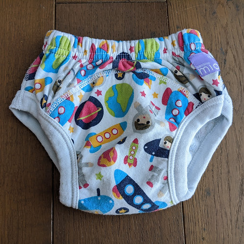 Bambino Mio Potty Reusable Training Pull Up Pants - Outer Space Print