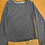 Thumbnail: Fat Face Plain Blue Long Sleeve Top