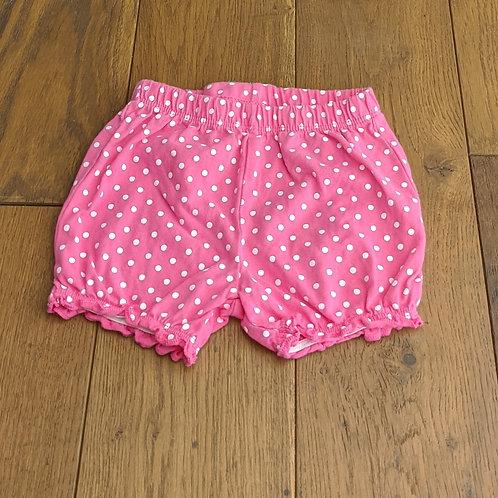 George Pink Polka Dot Shorts